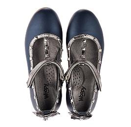 Детские туфли Woopy Orthopedic разноцветные для девочек  натуральная кожа размер 29-36 (3719) Фото 4