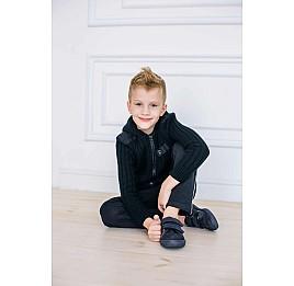 Детские кеды Woopy Orthopedic темно-синие для мальчиков натуральная кожа, нубук размер 26-31 (3725) Фото 6