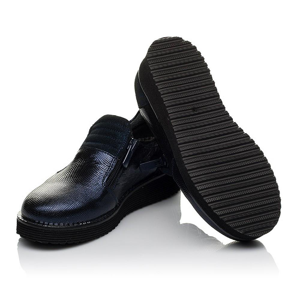 Детские туфли Woopy Orthopedic синие для девочек натуральная кожа размер 31-38 (3728) Фото 2