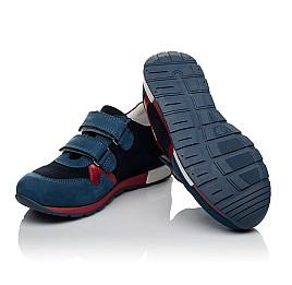 Детские кроссовки Woopy Orthopedic синие для мальчиков натуральный нубук размер 33-33 (3730) Фото 2
