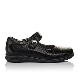 Детские туфли Woopy Orthopedic черные для девочек натуральная кожа размер 31-36 (3731) Фото 4