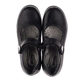 Детские туфли Woopy Orthopedic черные для девочек натуральная кожа размер 31-36 (3731) Фото 5