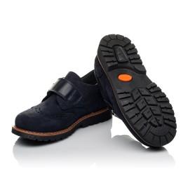Детские туфли Woopy Orthopedic темно-синие для мальчиков натуральный нубук размер 36-39 (3742) Фото 2
