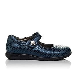 Детские туфли Woopy Orthopedic синие для девочек натуральная кожа размер 31-36 (3743) Фото 4