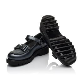 Детские туфли Woopy Orthopedic серые для девочек  натуральная кожа размер 36-37 (3744) Фото 2