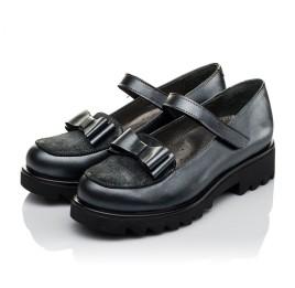 Детские туфли Woopy Orthopedic серые для девочек  натуральная кожа размер 36-37 (3744) Фото 3