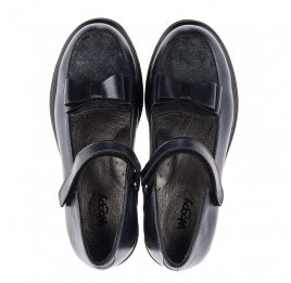 Детские туфли Woopy Orthopedic серые для девочек  натуральная кожа размер 36-37 (3744) Фото 5