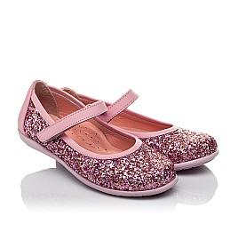 Детские туфли Woopy Orthopedic розовые для девочек современный искусственный материал размер 27-27 (3746) Фото 1