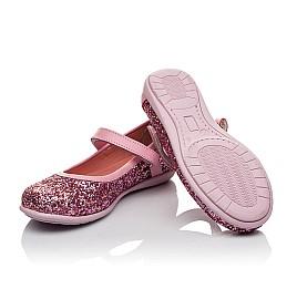 Детские туфли Woopy Orthopedic розовые для девочек современный искусственный материал размер 27-27 (3746) Фото 2