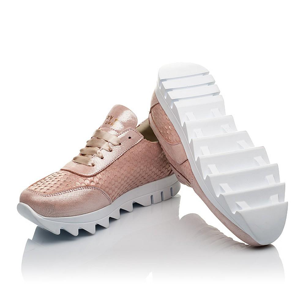 Детские кроссовки Woopy Orthopedic пудровые для девочек натуральная кожа размер 36-40 (3747) Фото 2