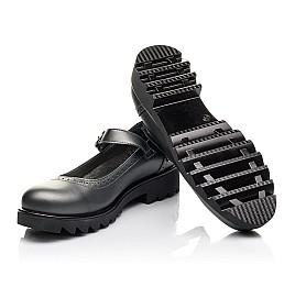 Детские туфли Woopy Orthopedic серые для девочек  натуральная кожа размер 39-39 (3752) Фото 2