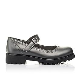 Детские туфли Woopy Orthopedic серые для девочек  натуральная кожа размер 39-39 (3752) Фото 4