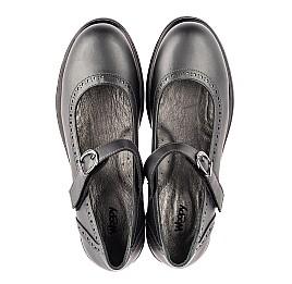 Детские туфли Woopy Orthopedic серые для девочек  натуральная кожа размер 39-39 (3752) Фото 5