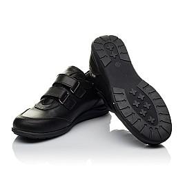 Детские туфли Woopy Orthopedic черные для мальчиков натуральная кожа размер 36-36 (3755) Фото 2