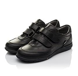 Детские туфли Woopy Orthopedic черные для мальчиков натуральная кожа размер 36-36 (3755) Фото 3