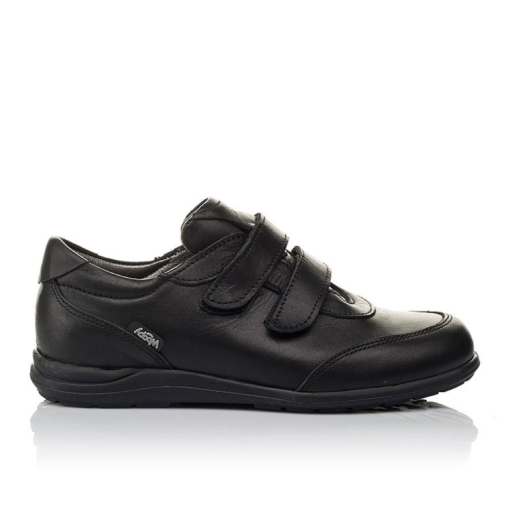 Детские туфли Woopy Orthopedic черные для мальчиков натуральная кожа размер 31-36 (3755) Фото 4