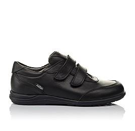 Детские туфли Woopy Orthopedic черные для мальчиков натуральная кожа размер 36-36 (3755) Фото 4