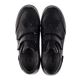 Детские туфли Woopy Orthopedic черные для мальчиков натуральная кожа размер 36-36 (3755) Фото 5