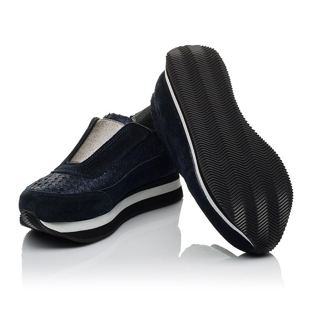 Детские кроссовки Woopy Orthopedic синие для девочек натуральная замша размер 31-40 (3758) Фото 2