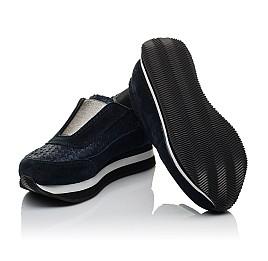 Детские кроссовки Woopy Orthopedic синие для девочек натуральная замша размер 31-31 (3758) Фото 2