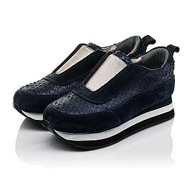 Детские кроссовки Woopy Orthopedic синие для девочек натуральная замша размер 31-31 (3758) Фото 3