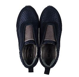 Детские кроссовки Woopy Orthopedic синие для девочек натуральная замша размер 31-31 (3758) Фото 5