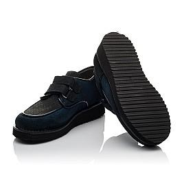 Детские туфли Woopy Orthopedic темно-синие для девочек натуральная замша размер 31-37 (3761) Фото 2