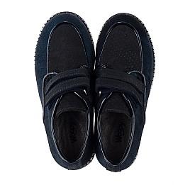 Детские туфли Woopy Orthopedic темно-синие для девочек натуральная замша размер 31-37 (3761) Фото 5
