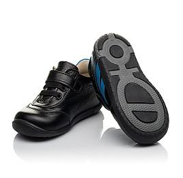 Детские кроссовки Woopy Orthopedic черные для мальчиков натуральная кожа размер 19-25 (3765) Фото 2