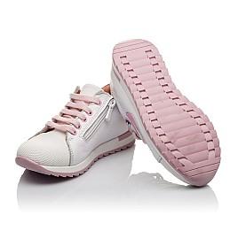 Детские кроссовки Woopy Orthopedic белые для девочек  натуральная кожа, текстиль размер 23-35 (3775) Фото 3