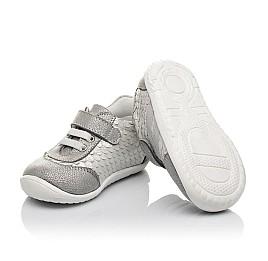 Детские кроссовки Woopy Orthopedic серые для девочек натуральный нубук размер 18-25 (3778) Фото 3