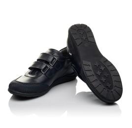 Детские туфли Woopy Orthopedic синие для мальчиков натуральная кожа размер 34-36 (3779) Фото 3