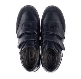 Детские туфли Woopy Orthopedic синие для мальчиков натуральная кожа размер 34-36 (3779) Фото 5