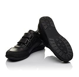Детские туфли Woopy Orthopedic черные для мальчиков натуральная кожа размер 34-34 (3780) Фото 3