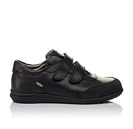 Детские туфли Woopy Orthopedic черные для мальчиков натуральная кожа размер 34-34 (3780) Фото 4