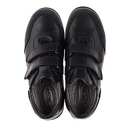 Детские туфли Woopy Orthopedic черные для мальчиков натуральная кожа размер 34-34 (3780) Фото 5