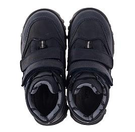 Детские демисезонные ботинки Woopy Orthopedic синие для мальчиков натуральный нубук размер 40-40 (3800) Фото 5