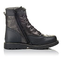 Детские демисезонные ботинки Woopy Orthopedic черные для девочек натуральная кожа размер 29-31 (3822) Фото 5