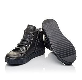 Детские демисезонные ботинк Woopy Orthopedic серые для девочек  натуральная кожа размер 30-35 (3839) Фото 2