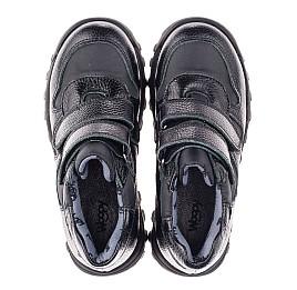 Детские демисезонные ботинки Woopy Orthopedic черные для мальчиков натуральная кожа, искусственный материал  размер 31-39 (3846) Фото 5