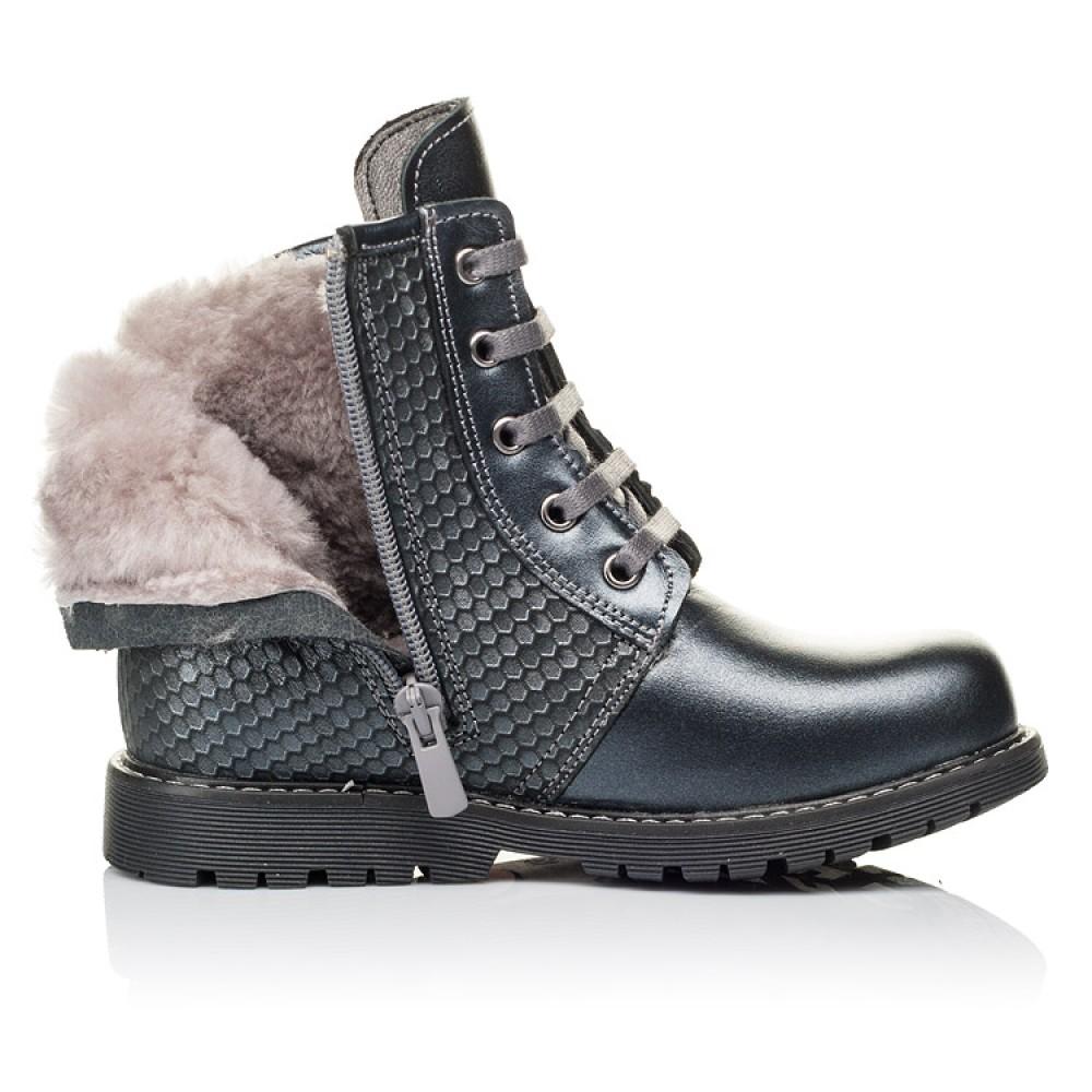 Для девочек Зимние ботинки на меху 3926