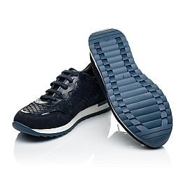 Детские кроссовки Woopy Orthopedic синие для девочек натуральный нубук размер 33-39 (4002) Фото 2