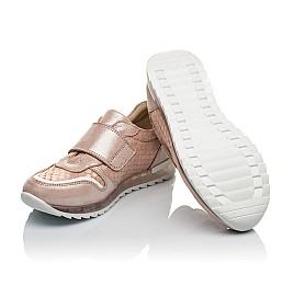 Детские кроссовки Woopy Orthopedic пудровые для девочек натуральный нубук размер 33-38 (4010) Фото 2