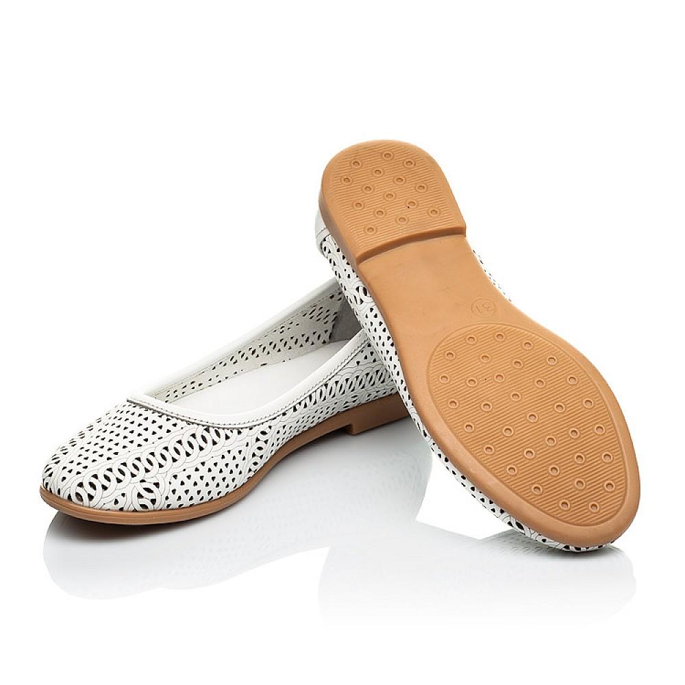 Детские туфли Woopy Orthopedic белые для девочек натуральная кожа размер 26-40 (4012) Фото 2