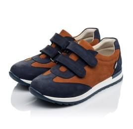Детские кросівки Woopy Orthopedic темно-синие для мальчиков натуральный нубук размер 39-39 (4015) Фото 3