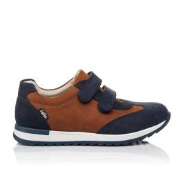 Детские кросівки Woopy Orthopedic темно-синие для мальчиков натуральный нубук размер 39-39 (4015) Фото 4