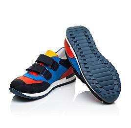 Детские кроссовки Woopy Orthopedic синие для мальчиков натуральный нубук размер 22-39 (4017) Фото 2