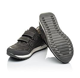 Детские кроссовки Woopy Orthopedic серые для мальчиков натуральный нубук размер 26-40 (4024) Фото 2