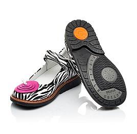 Детские туфлі ортопедичні Woopy Orthopedic черные для девочек  натуральная кожа размер 19-24 (4038) Фото 2
