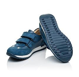 Детские кроссовки Woopy Orthopedic синие для мальчиков натуральная кожа размер 31-40 (4039) Фото 2